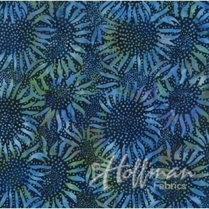 "BALI BATIKS 108"" WIDE BACK BY HOFFMAN - Lapis"