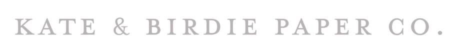 Kate & Birdie Logo