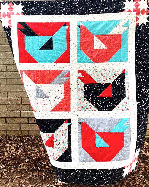 Little Chicken Quilt Design