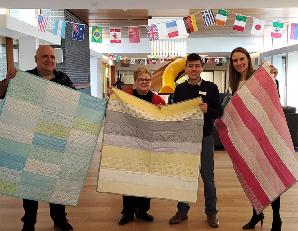 Quilts for Ronald McDonald House