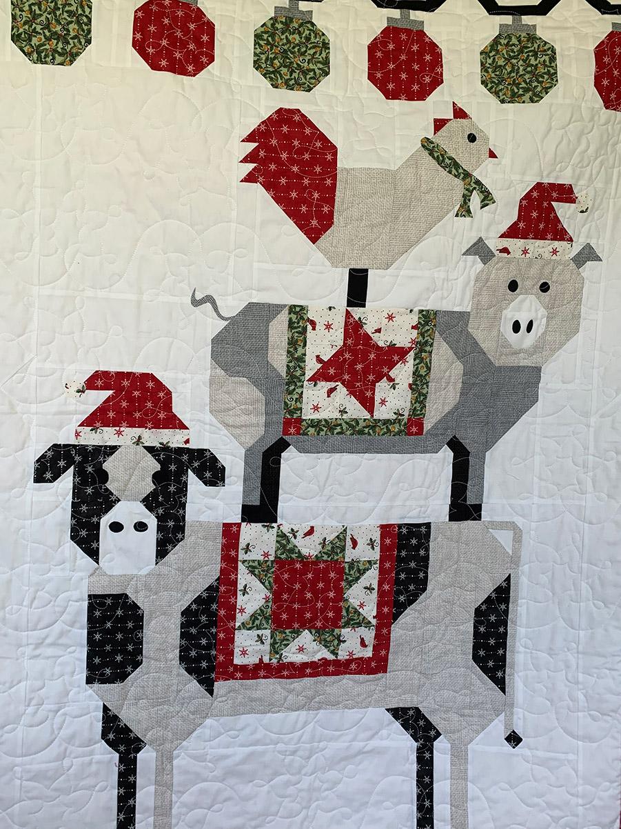holiday fabric design