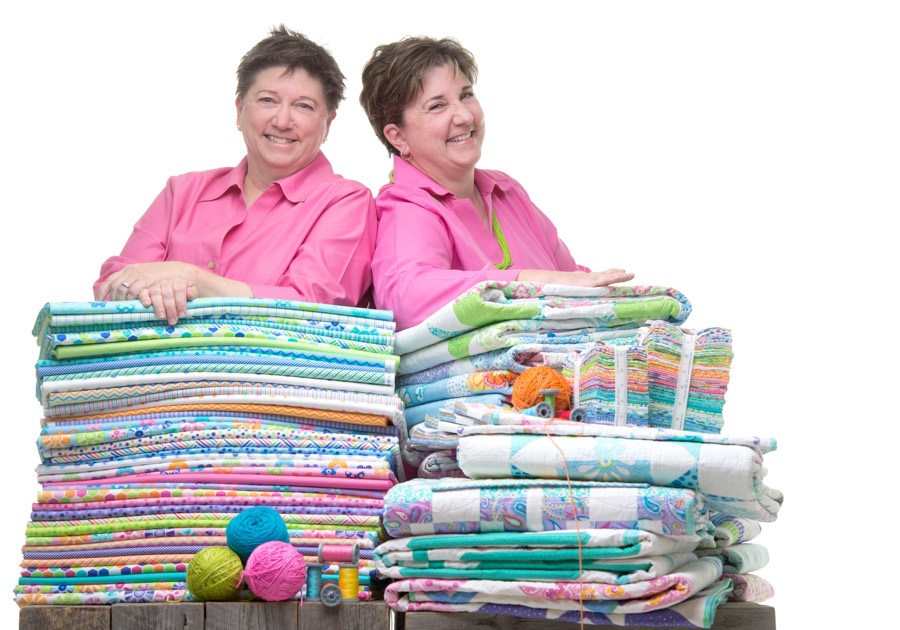 Barbara Groves and Mary Jacobson of Me and My Sister Designs