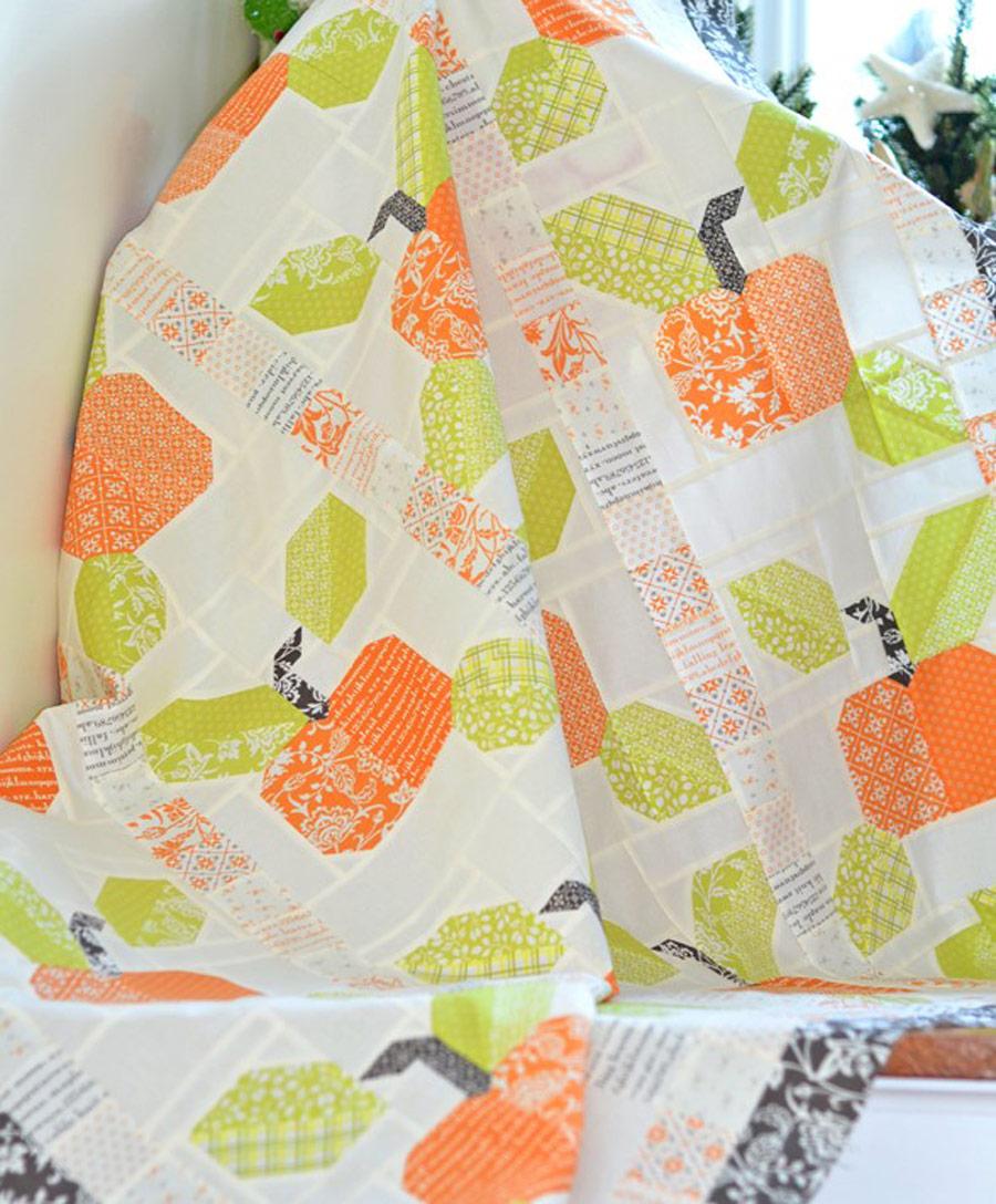 Pumpkins and Blossoms Fabric Fabric Ideas
