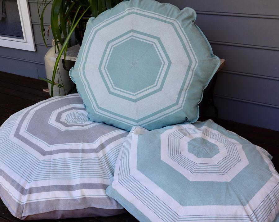 Cushions on deck
