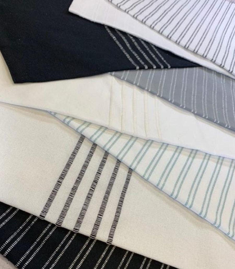 Lakeside Towelling Fabric Samples